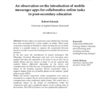2-An-observation-on-the-introduction-of-mobile-messenger-apps-for-collaborative-online-tasks-in-post-secondary-education-Robert-Schrenk-1-1.pdf